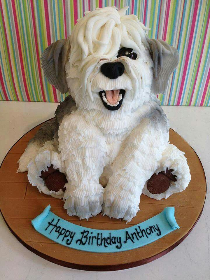 Phenomenal Birthday Cakes Puppy Birthday Cake Yesbirthday Home Of Funny Birthday Cards Online Overcheapnameinfo