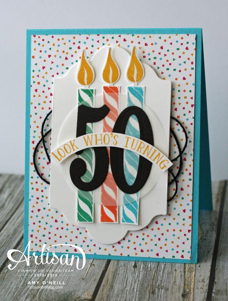 Birthday Card Ideas 50th