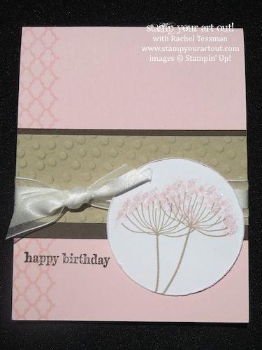 Description A Pretty Birthday Card