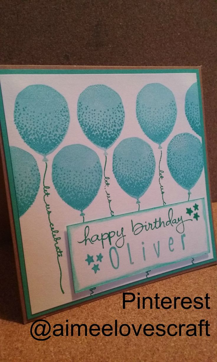 Description Balloon Celebration Birthday Card For My Nephew