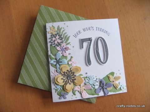 Birthday Card Ideas Botanical Blooms Archives Crafty Rootes