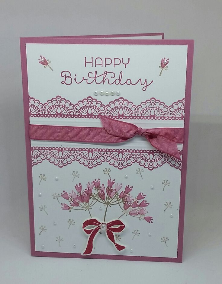 Birthday Card Ideas : Stampin' Up! Demonstrator stampwithpeg