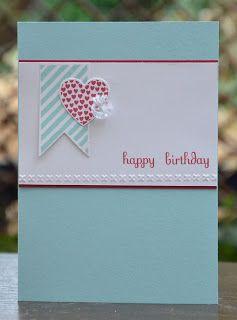 Birthday Card Ideas : pandacream: hearts a flutter