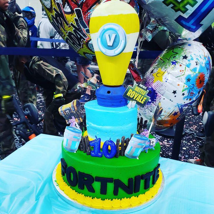 birthday cakes fortnite