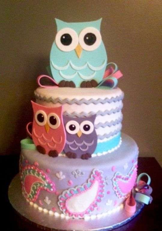 Fabulous Birthday Cakes 1St Owl Cake Yesbirthday Home Of Birthday Funny Birthday Cards Online Amentibdeldamsfinfo