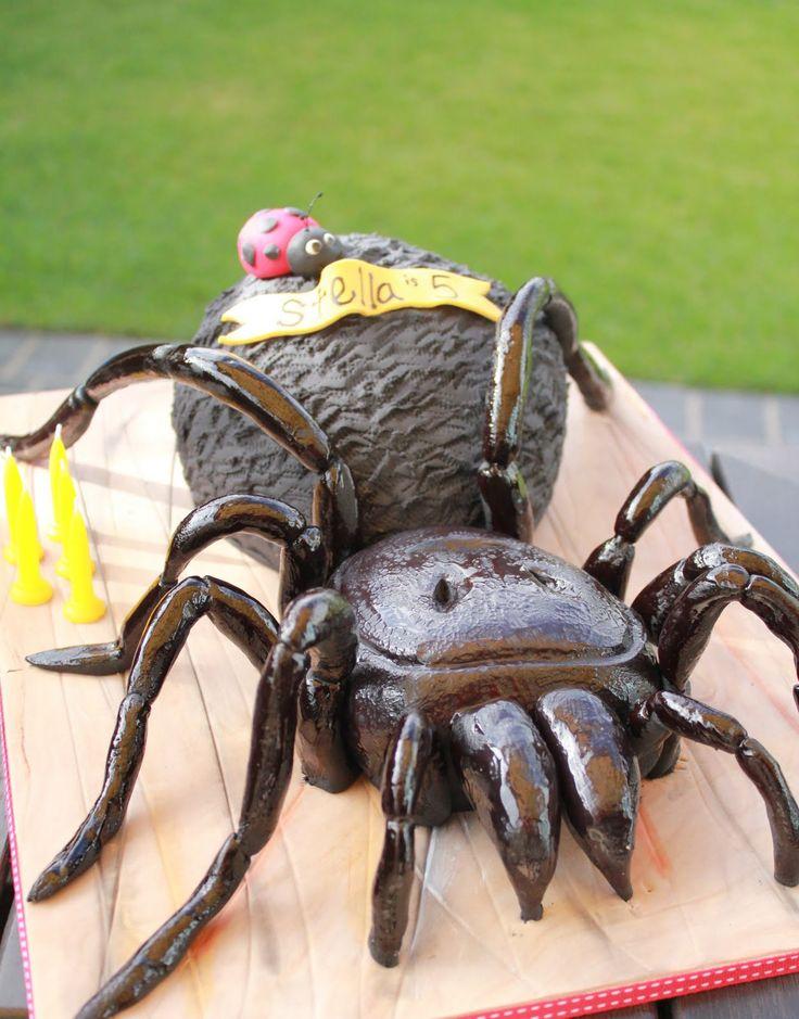 Fantastic Birthday Cakes Blissfully Sweet A Funnel Web Spider Birthday Funny Birthday Cards Online Inifofree Goldxyz