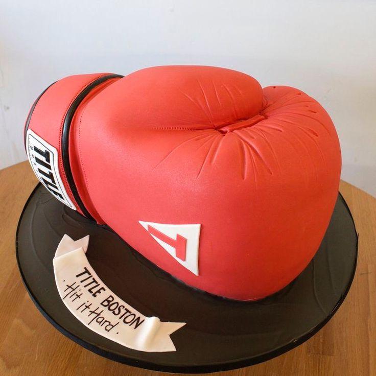 Astonishing Birthday Cakes Boxing Glove Cake Yesbirthday Home Of Funny Birthday Cards Online Hendilapandamsfinfo