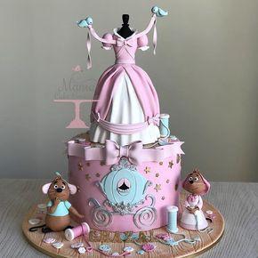 Pleasant Birthday Cakes Cinderella Cake Yesbirthday Home Of Birthday Personalised Birthday Cards Veneteletsinfo
