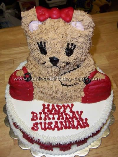 Astonishing Birthday Cakes Coolest Teddy Bear Cakes And Free Cake Decorating Funny Birthday Cards Online Elaedamsfinfo