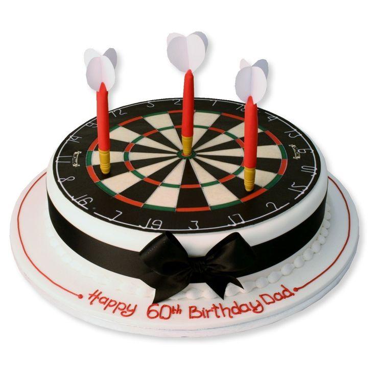Phenomenal Birthday Cakes Dart Board Cake Yesbirthday Home Of Birthday Funny Birthday Cards Online Drosicarndamsfinfo