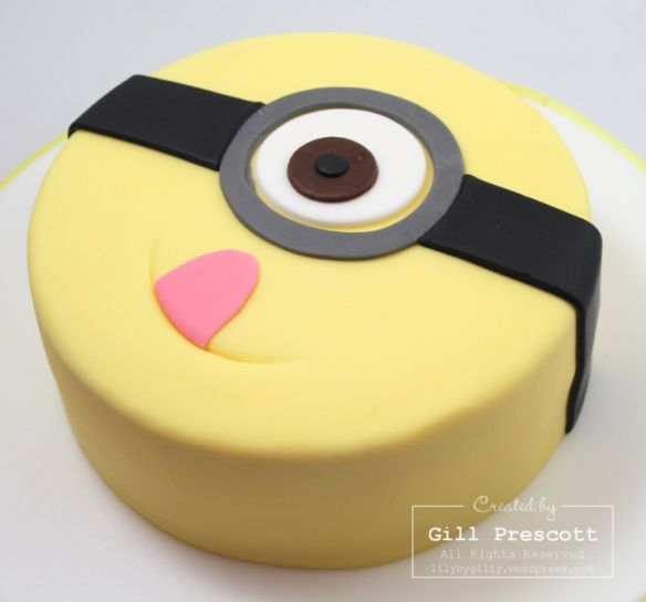 Terrific Birthday Cakes Despicable Me Minion Birthday Yesbirthday Funny Birthday Cards Online Inifofree Goldxyz