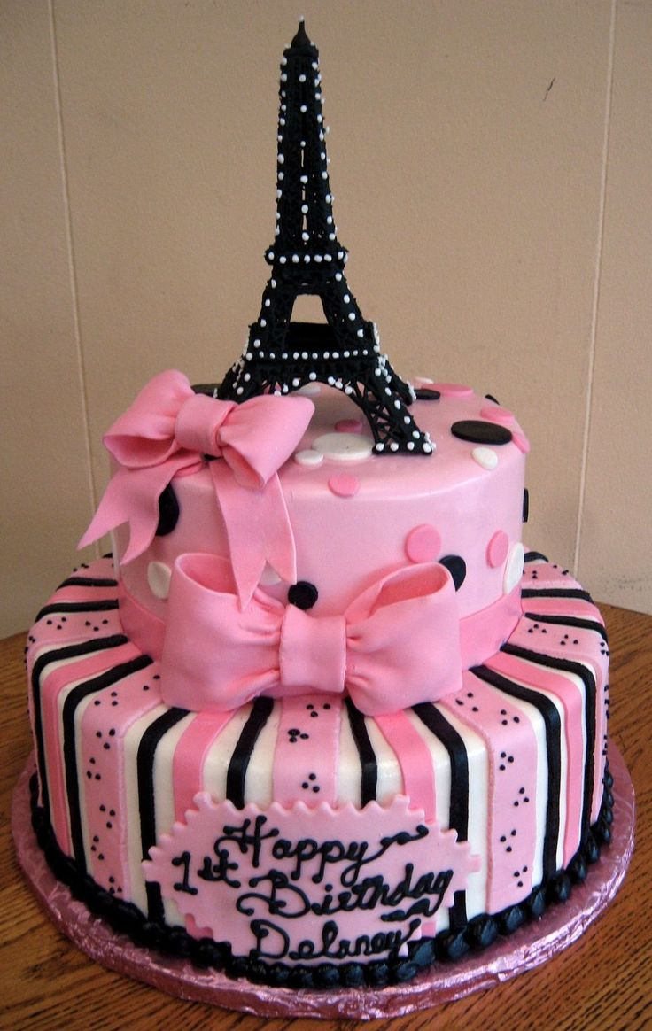 Admirable Birthday Cakes Eiffel Tower Is Made From Royal Icing A Very Funny Birthday Cards Online Aeocydamsfinfo