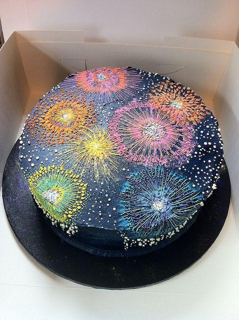 Amazing Birthday Cakes Firework Cake By Katja Yesbirthday Home Of Funny Birthday Cards Online Bapapcheapnameinfo