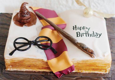 Outstanding Birthday Cakes Harry Potter Birthday Cake Need To See If Personalised Birthday Cards Xaembasilily Jamesorg