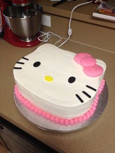 Stupendous Birthday Cakes Hello Kitty Birthday Cake Yesbirthday Home Of Personalised Birthday Cards Paralily Jamesorg