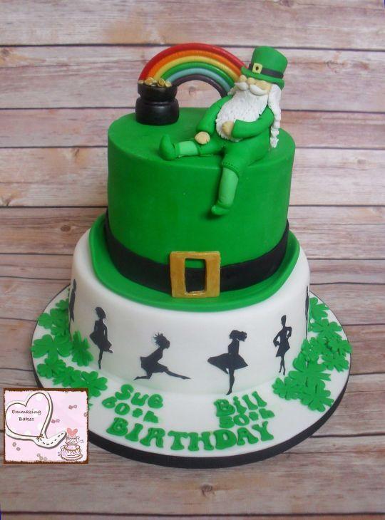 Phenomenal Birthday Cakes Irish Themed Cake Yesbirthday Home Of Birthday Cards Printable Riciscafe Filternl