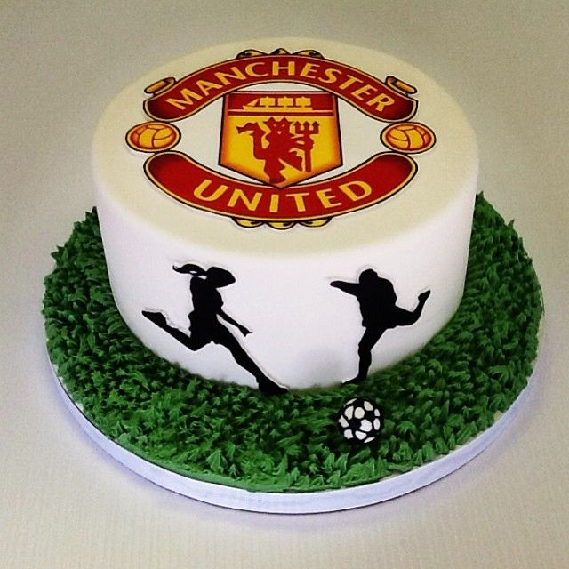 Fantastic Birthday Cakes Manchester United Cake Grooms Cake Soccer Funny Birthday Cards Online Elaedamsfinfo