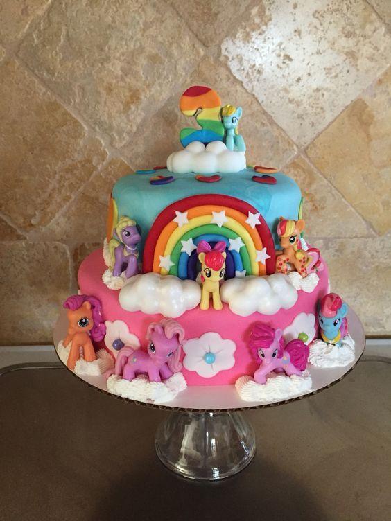 Astounding Birthday Cakes My Little Pony Cake Yesbirthday Home Of Funny Birthday Cards Online Alyptdamsfinfo
