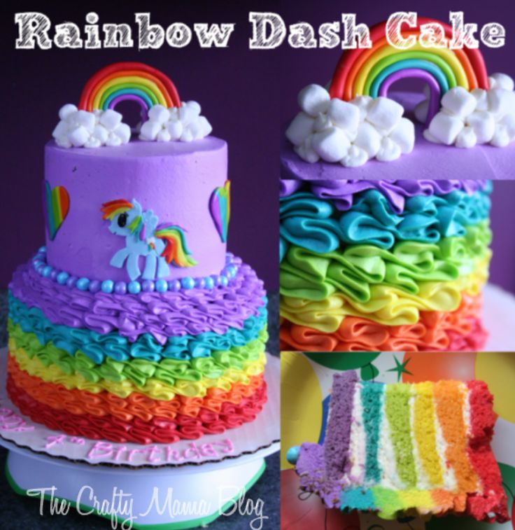 Super Birthday Cakes My Little Pony Cakes Part One Rainbow Dash Funny Birthday Cards Online Eattedamsfinfo
