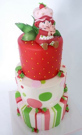 Strange Birthday Cakes Strawberry Shortcake Cakes Yesbirthday Home Personalised Birthday Cards Beptaeletsinfo