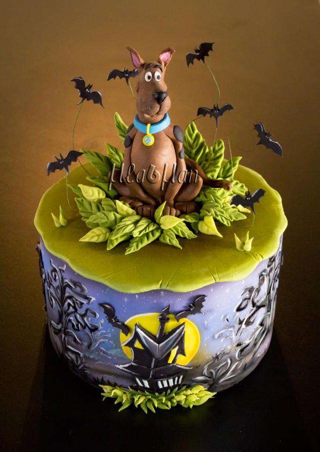 Surprising Birthday Cakes Scooby Doo Cake Cake By Mladman Yesbirthday Funny Birthday Cards Online Elaedamsfinfo