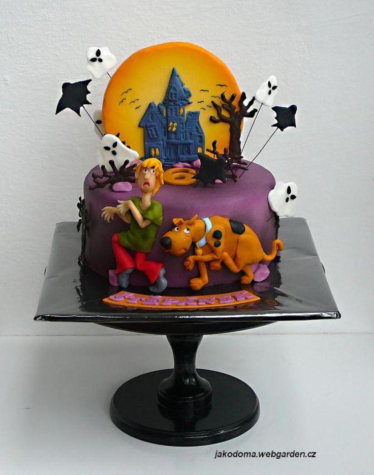 Outstanding Birthday Cakes Scooby Doo Yesbirthday Home Of Birthday Funny Birthday Cards Online Alyptdamsfinfo
