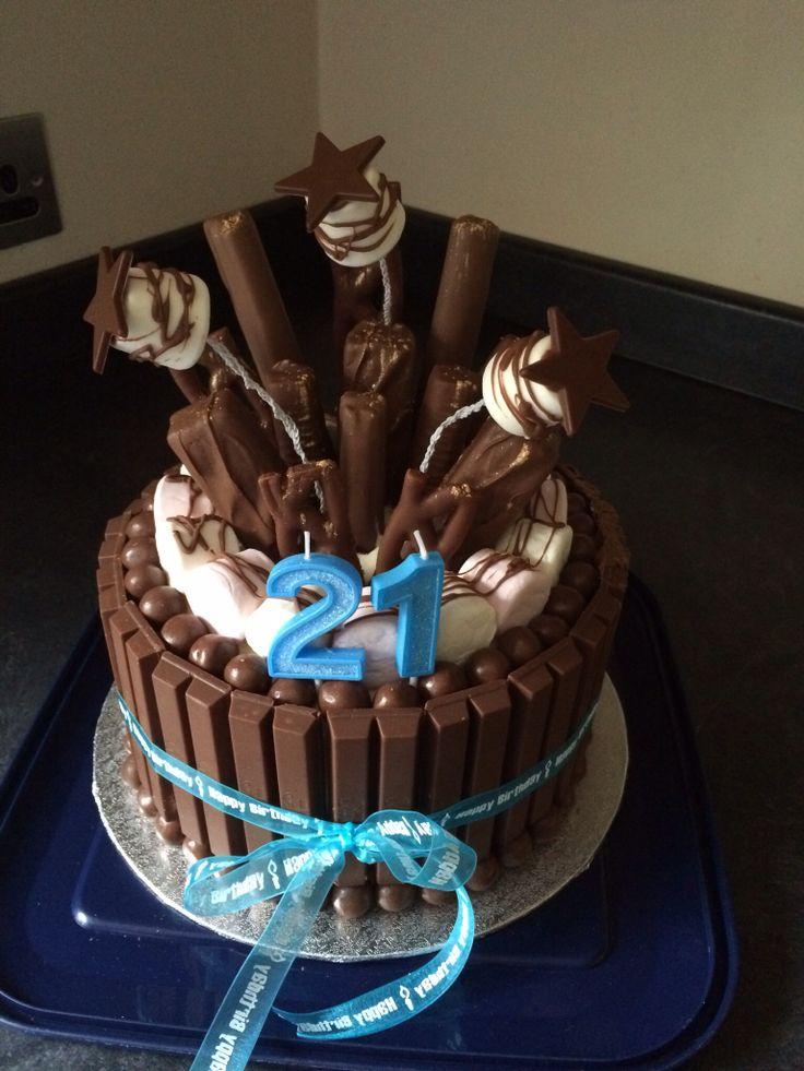 Birthday Cakes Toms 21st Birthday Chocolate Explosion