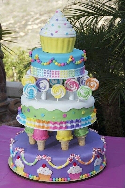 Superb Birthday Cakes What A Cake So Many Cute Ideas Yesbirthday Funny Birthday Cards Online Overcheapnameinfo