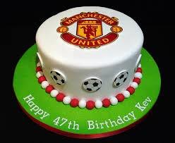 Birthday Cakes Man United Cake Google Search