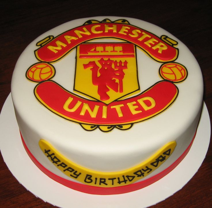 Birthday Cakes Manchester United Cake Google Search