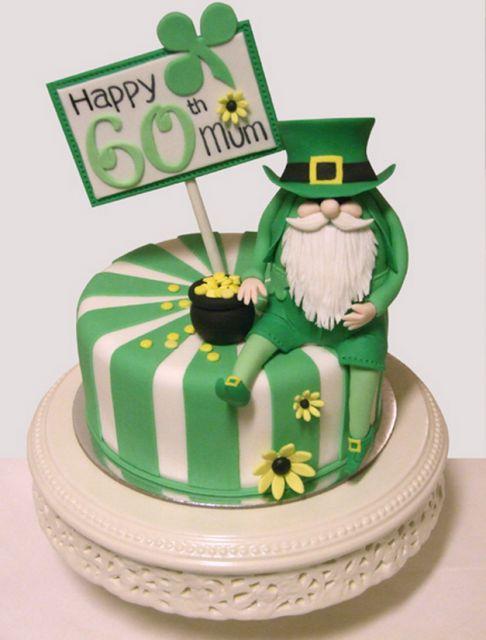 Outstanding Birthday Cakes St Patrick Cakes Birthday Cake With St Personalised Birthday Cards Cominlily Jamesorg