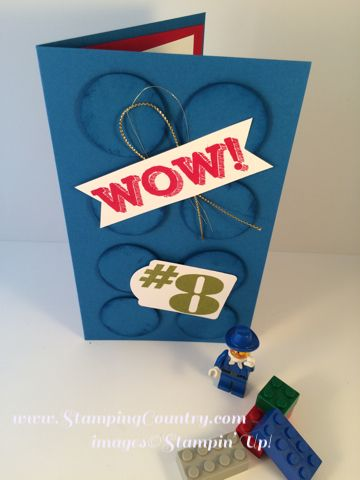 Description LEGO Birthday Card