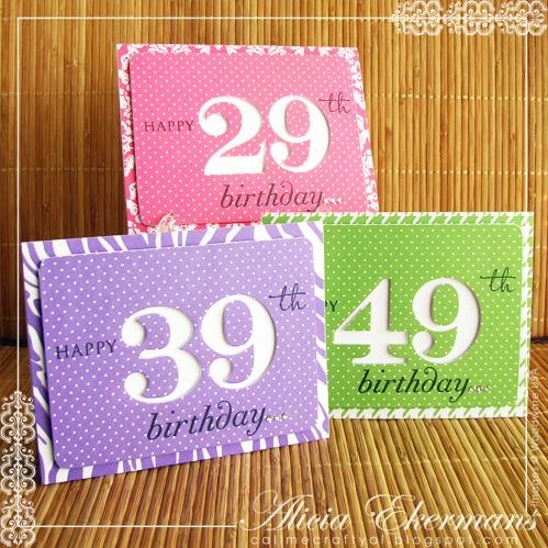 Birthday Card Ideas Nice Clean Set Like The Negative Outline