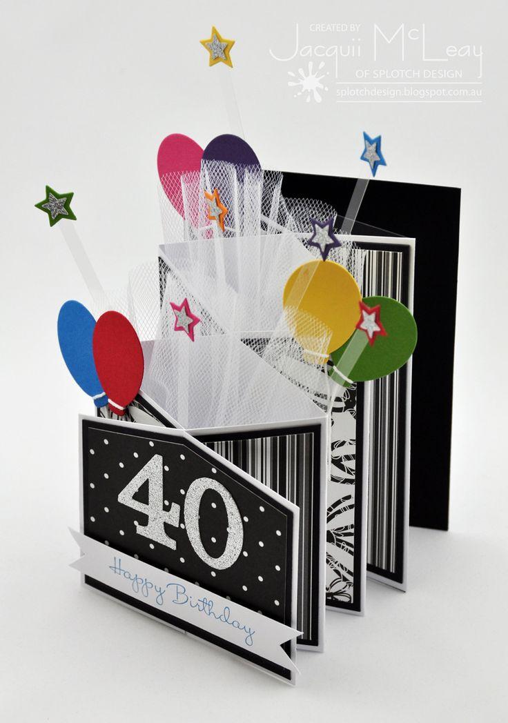 Birthday Card Ideas : Splotch Design – Jacquii McLeay