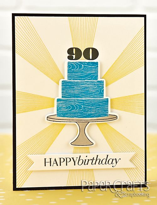 Description Starburst 90th Birthday Card