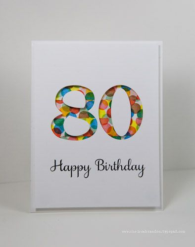 Birthday Card Ideas Clean Simple Saturday Party Time