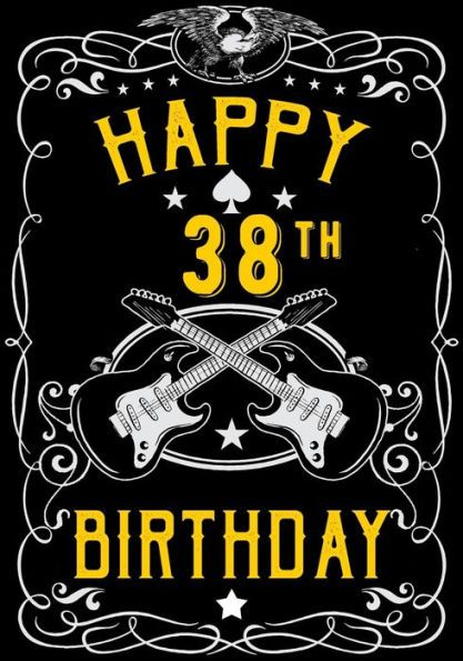 Amazing Birthday Quotes Happy 38Th Birthday Birthday Gifts For Men Personalised Birthday Cards Bromeletsinfo