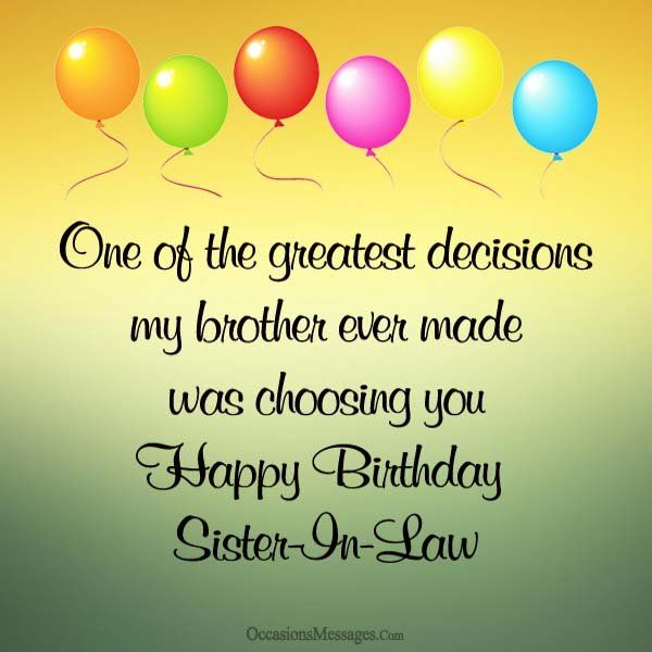 Birthday Quotes : Happy-birthday-sister-in-law | YesBirthday ...