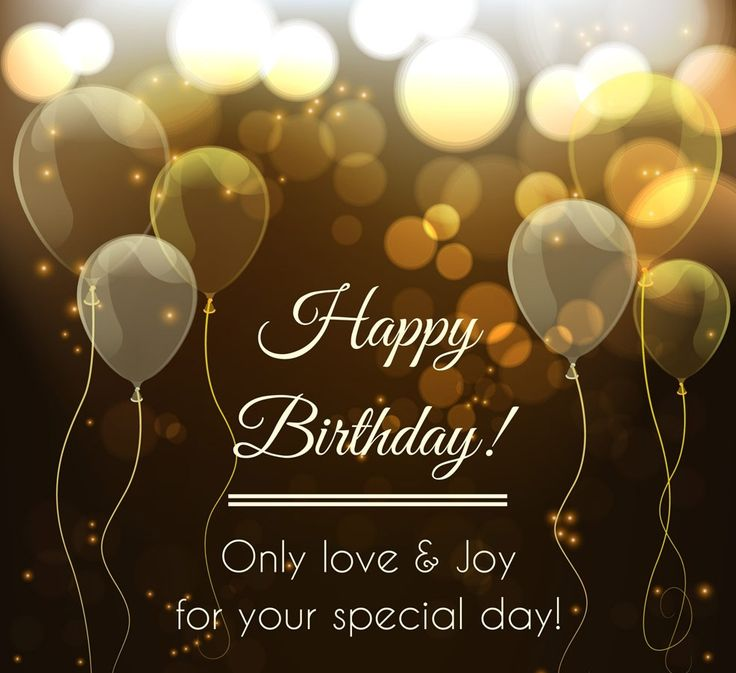 Birthday Quotes : Happy birthday wishes to friend love and joy