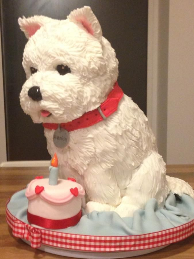 Remarkable Birthday Cakes Westie Dog Cake Yesbirthday Home Of Birthday Personalised Birthday Cards Sponlily Jamesorg