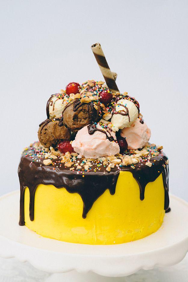 Awe Inspiring Birthday Cakes 35 Amazing Birthday Cake Ideas Yesbirthday Funny Birthday Cards Online Elaedamsfinfo