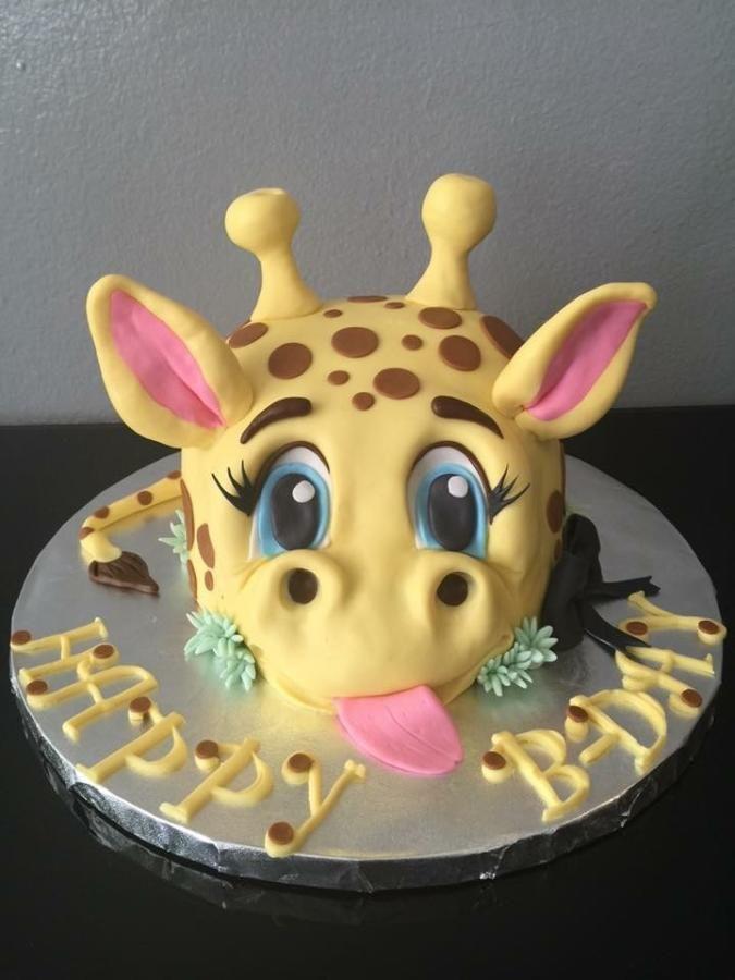 Awesome Birthday Cakes 3D Giraffe Cake Cake By Gogascakes Funny Birthday Cards Online Hendilapandamsfinfo