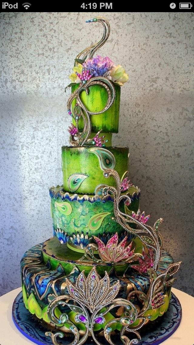 Prime Birthday Cakes Awesome Peacock Cake Yesbirthday Home Of Personalised Birthday Cards Veneteletsinfo