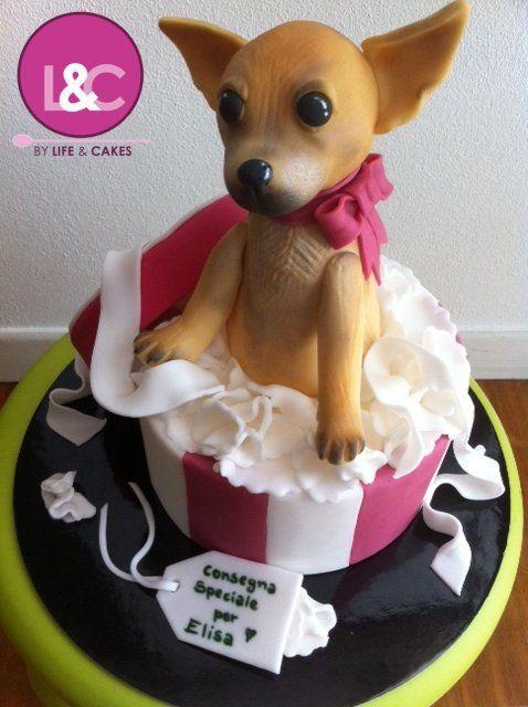 Wondrous Birthday Cakes Chihuahua Cake Becky Hui Chan Criste Im Just Funny Birthday Cards Online Unhofree Goldxyz