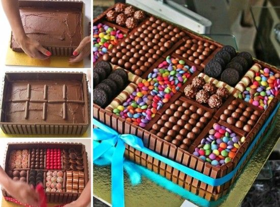 Amazing Birthday Cakes Chocolate Box Cake Recipe Quick Video Personalised Birthday Cards Veneteletsinfo
