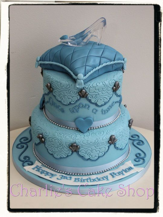 Admirable Birthday Cakes Cinderella Cake Yesbirthday Home Of Birthday Personalised Birthday Cards Veneteletsinfo