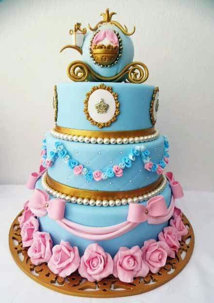 Phenomenal Birthday Cakes Cinderella Themed Cake Yesbirthday Home Of Personalised Birthday Cards Petedlily Jamesorg
