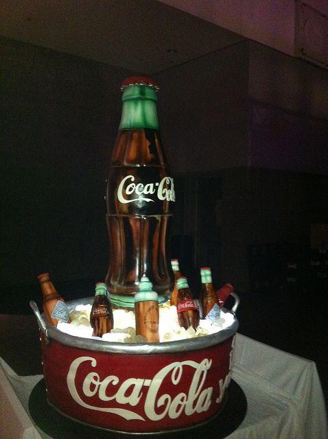 Surprising Birthday Cakes Coca Cola Cake Yesbirthday Home Of Birthday Funny Birthday Cards Online Necthendildamsfinfo