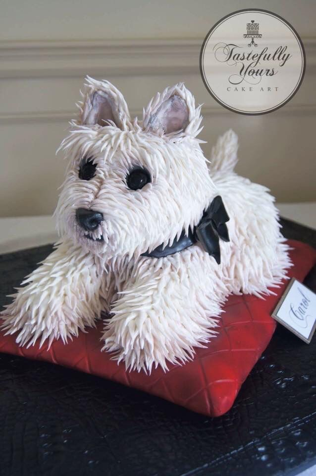 Awesome Birthday Cakes Cute Dog Cake By Tastefully Yours More Funny Birthday Cards Online Necthendildamsfinfo