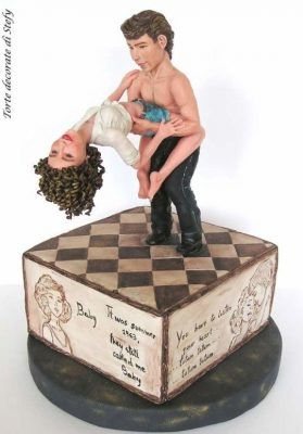 Awesome Birthday Cakes Dirty Dancing By Stefania Yesbirthday Home Of Personalised Birthday Cards Petedlily Jamesorg